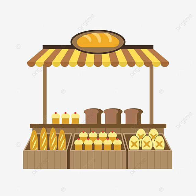 flat wind street file market bread cart