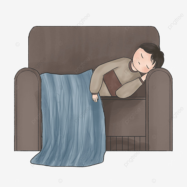 gray couch lazy clip art