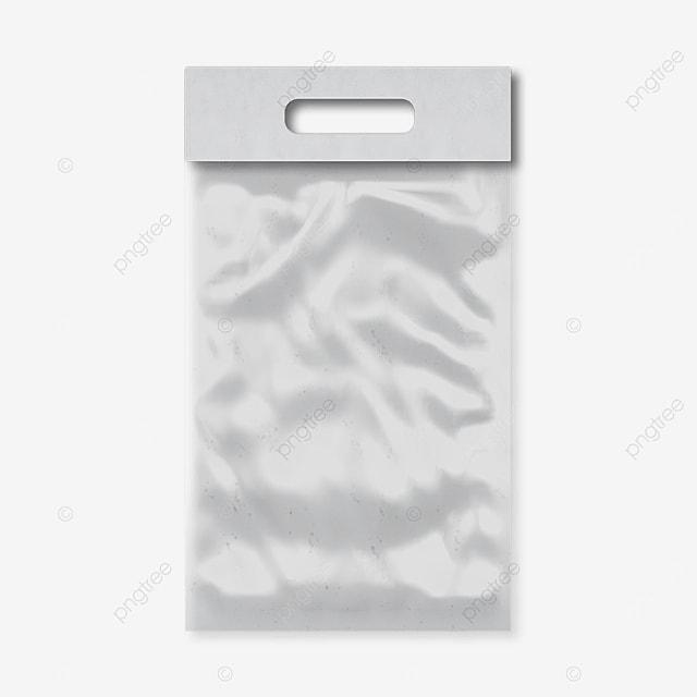 rectangular 3d plastic packaging tote bag