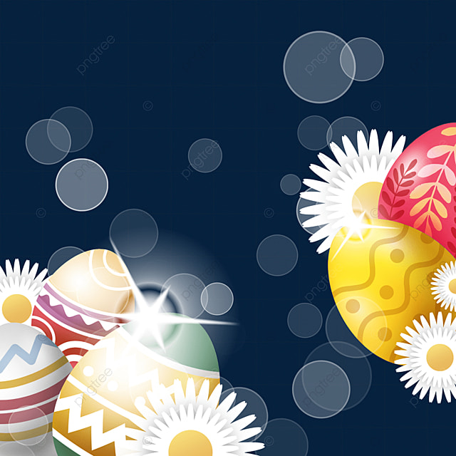 colorful pattern decorated easter texture egg