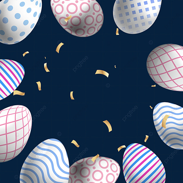 dot dots and stripes easter textured egg