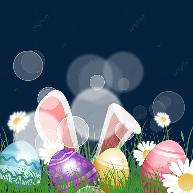 easter texture egg with glare effect
