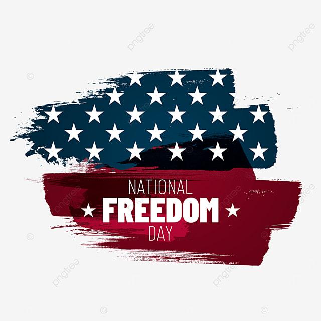 abstract flag brush usa national freedom day illustration