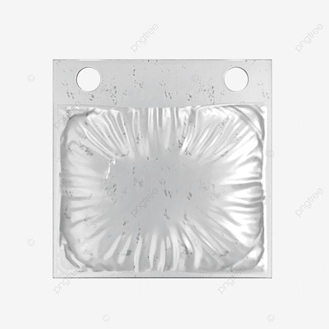 small 3d transparent plastic packaging bag