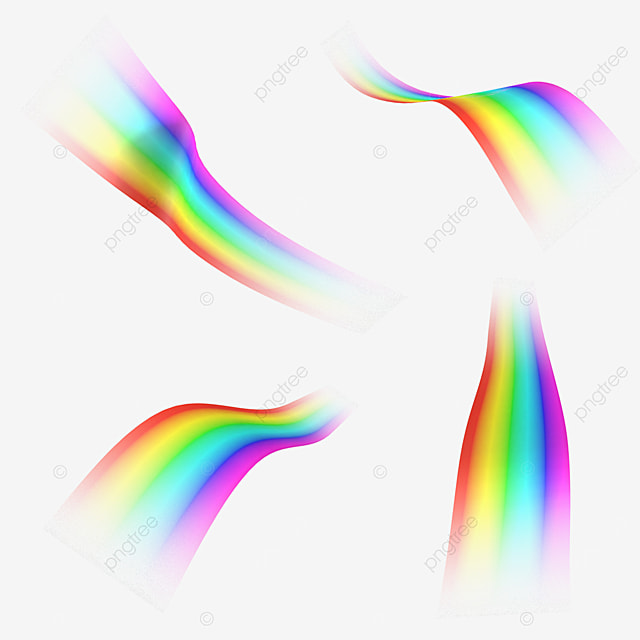 gradient abstract rainbow light effect