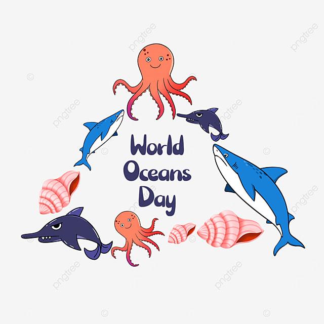 world ocean day sea environmental protection border