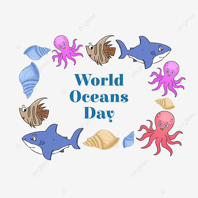 world oceans day fish resources protection border