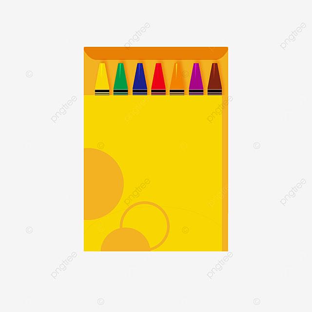 circle pattern crayon box clip art