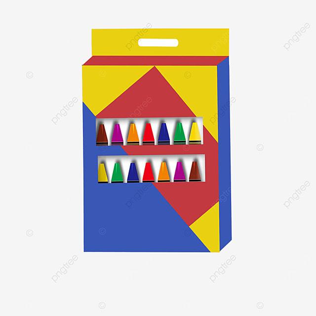 color crayon box clip art