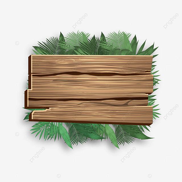 european wooden board plant border