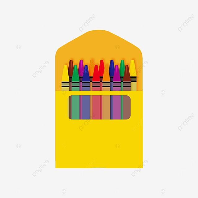 hollow crayon box clip art