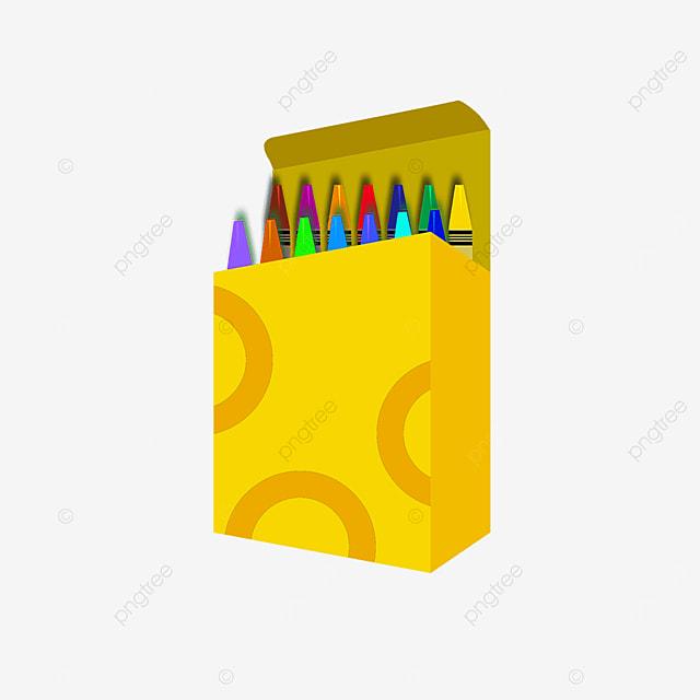 square crayon box clip art