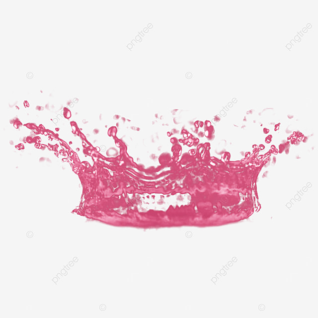 3d pink strawberry liquid sweetness