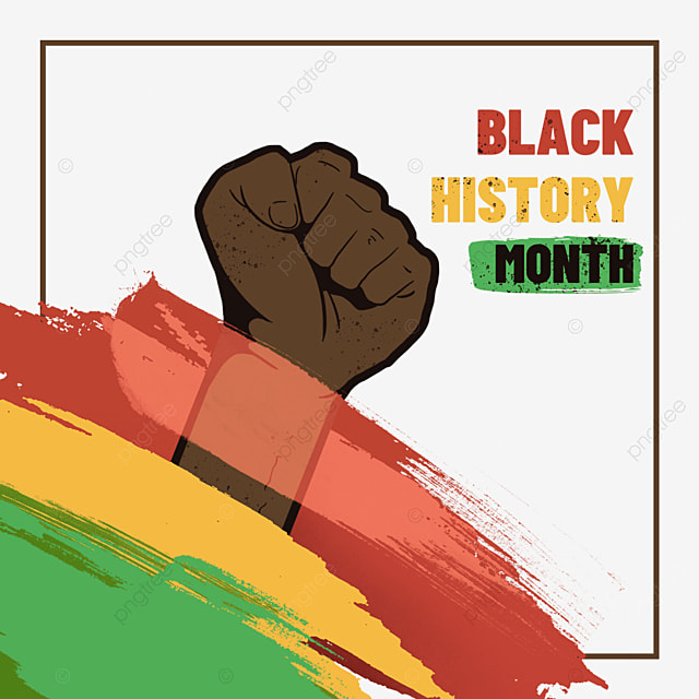black history month brush