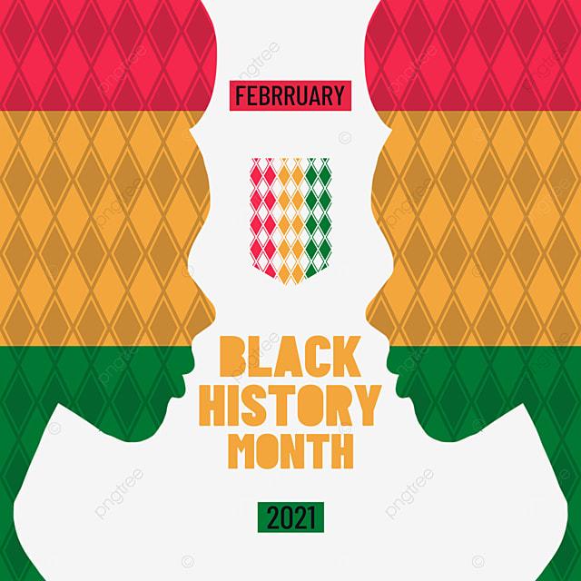 black history month character shading