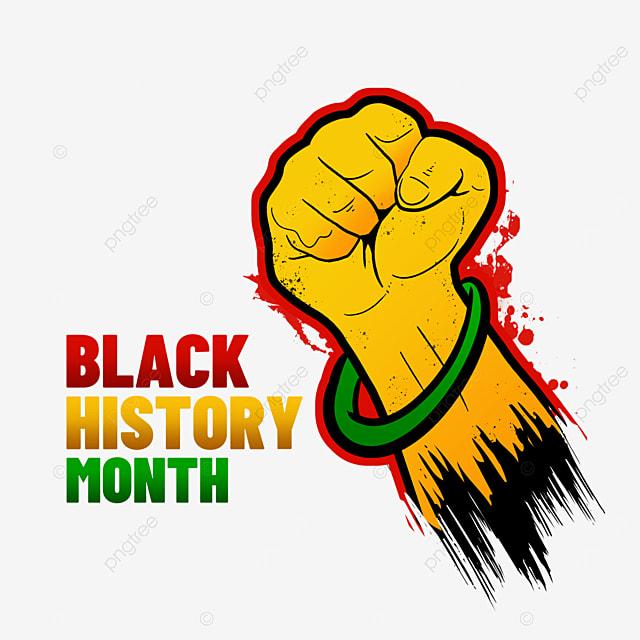 black history month fist