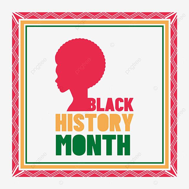 black history month frame
