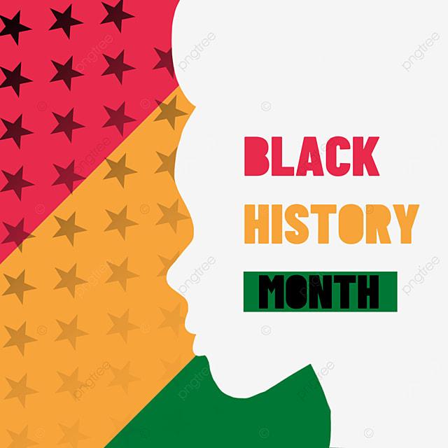 black history month pentagram decoration