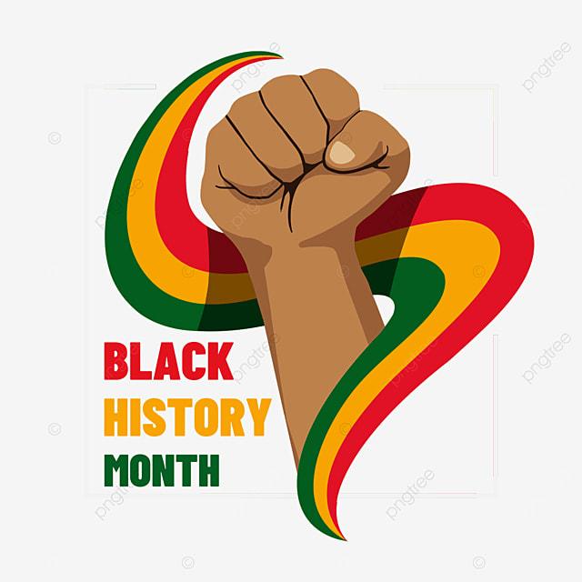 black history month ribbon