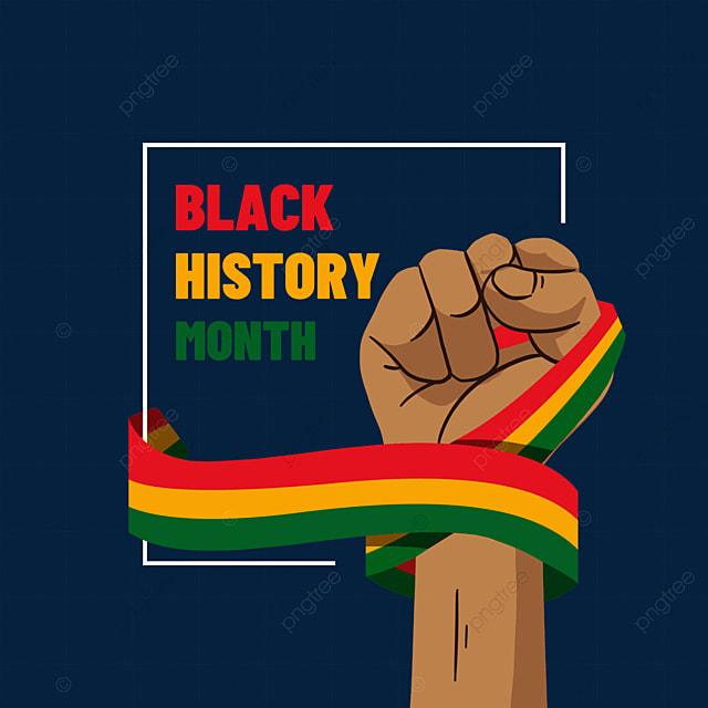 black history month sworn fist