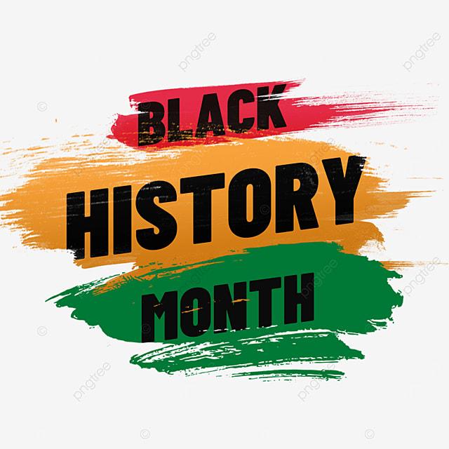 black history month texture brush