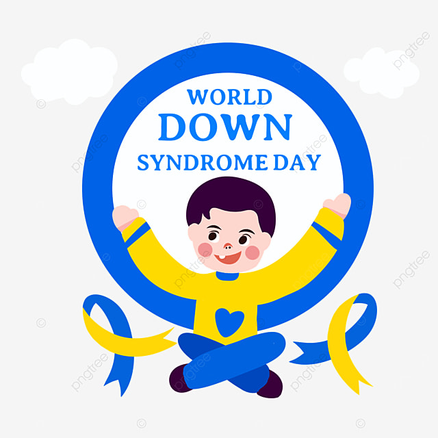 blue world down syndrome day
