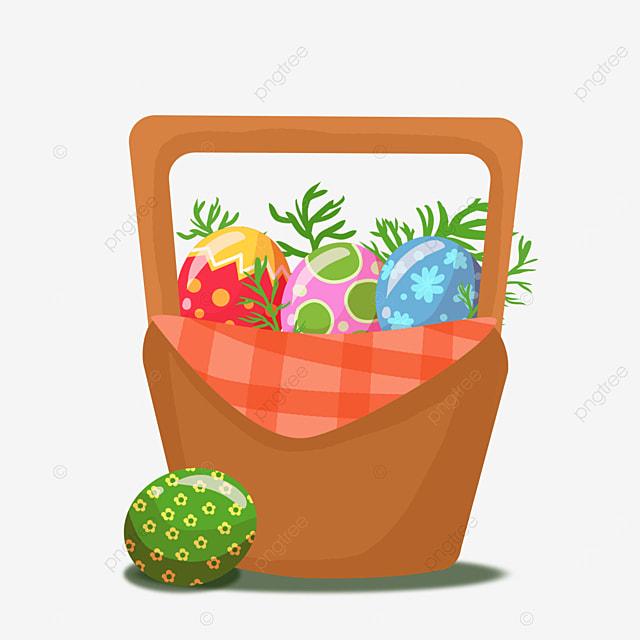 bucket easter basket clip art