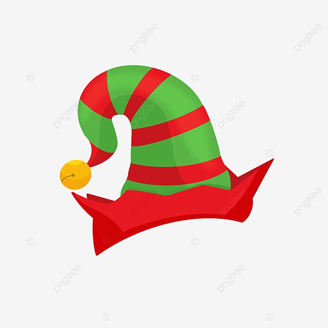 cartoon elf hat clipart