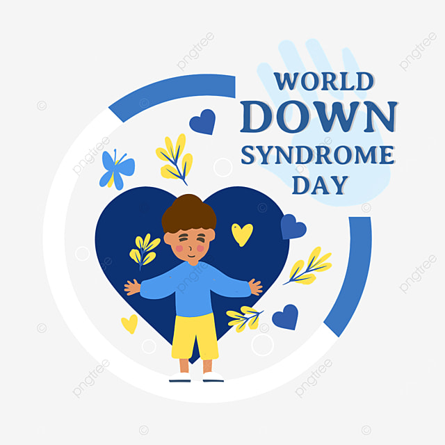 children on world down syndrome day