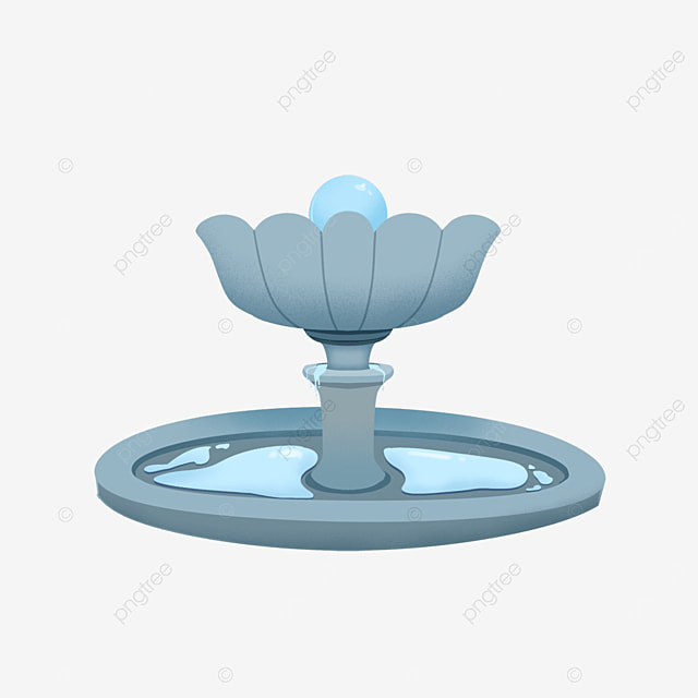fountain clip art thirst static pearl bud shaped