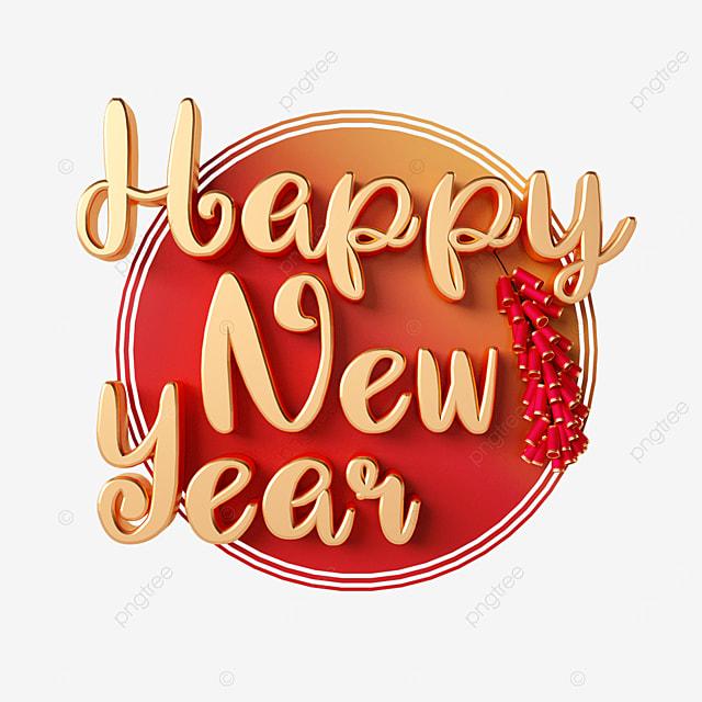 happy new year firecracker font