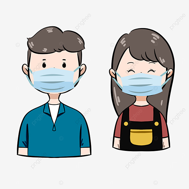 keep your distance and wear a mask to prevent the epidemic