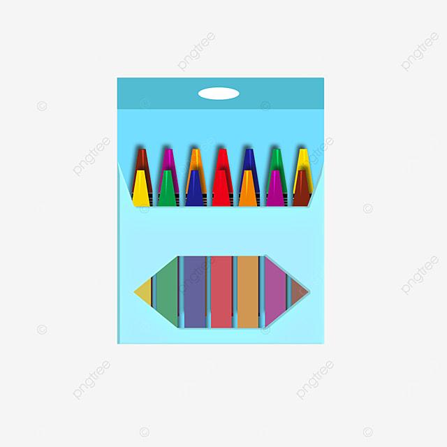lake blue crayon box clip art