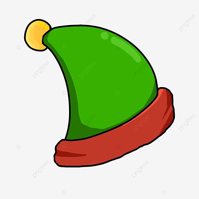 orb elf cartoon hat clipart
