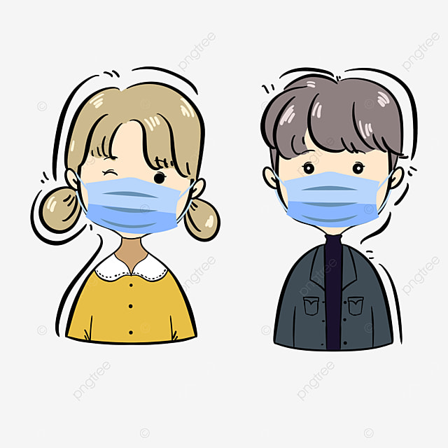 please wear a mask when going out