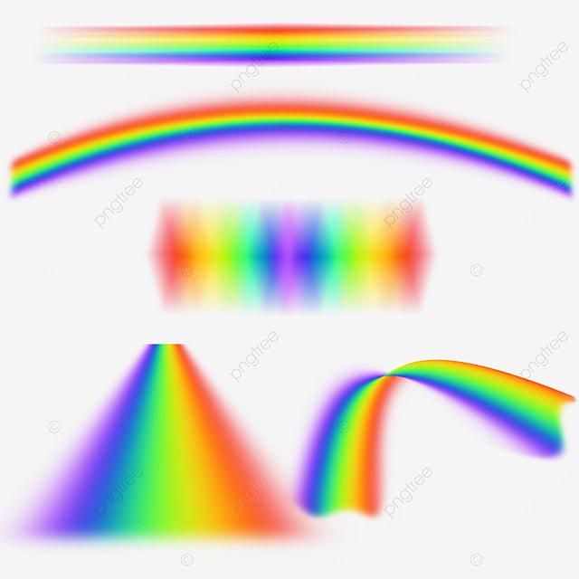 rainbow spectrum abstract light effect