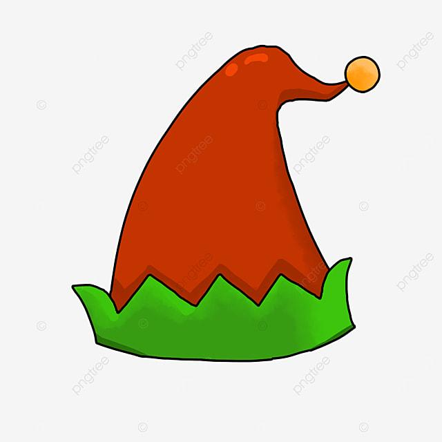 rocker horn cartoon elf hat clipart