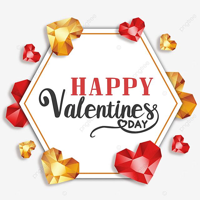 valentine diamond border love