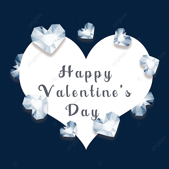 valentines day border diamond holiday