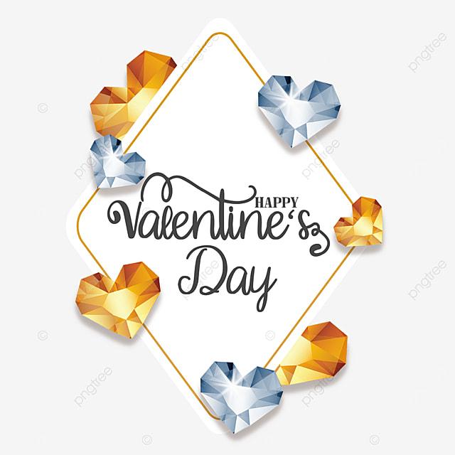 valentines day diamond border decoration