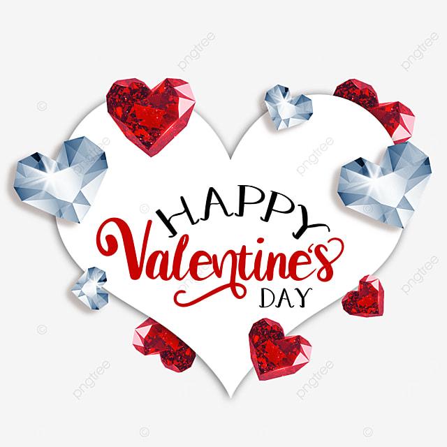 valentines day diamond border love romance