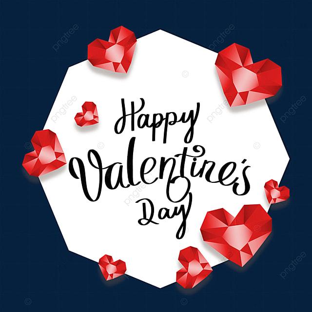 valentines day diamond border