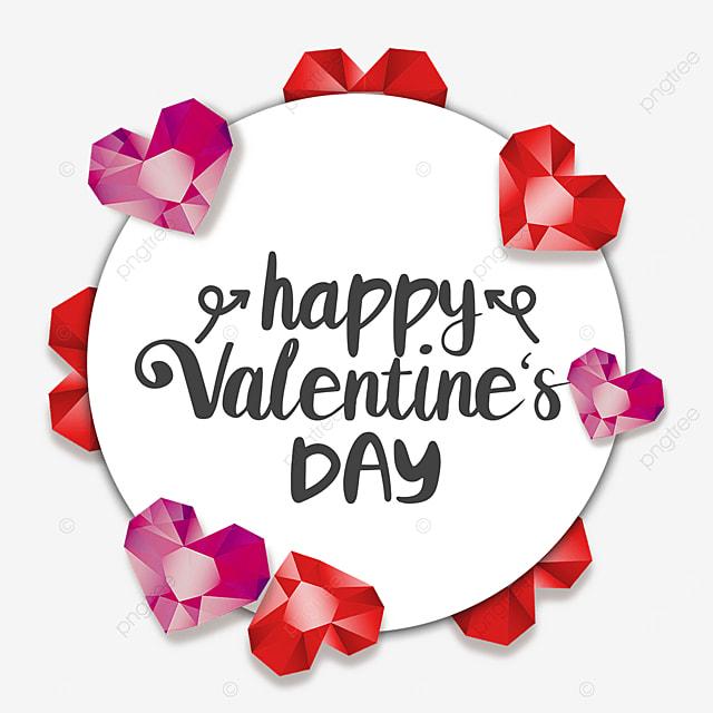 valentines day diamond border romantic