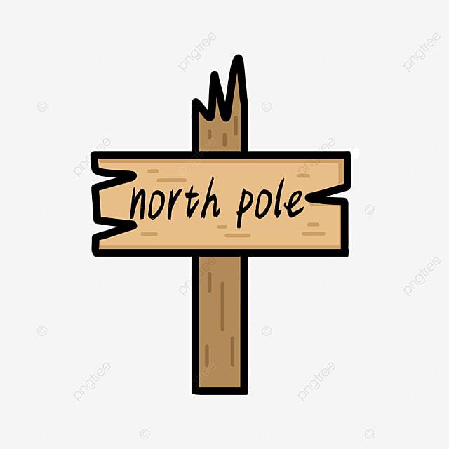 wooden board arctic clip art