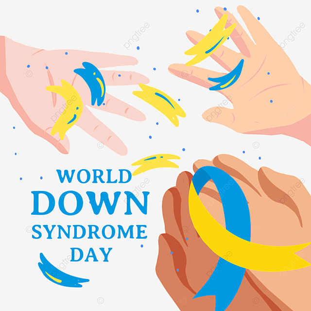 world down syndrome day palm ideas