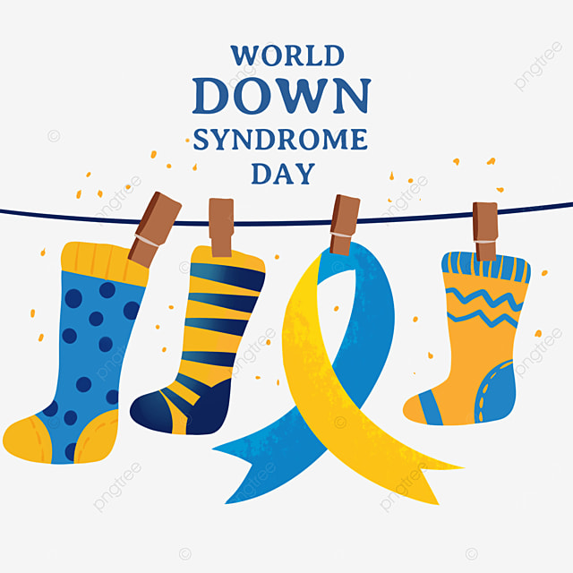 world down syndrome day ribbon