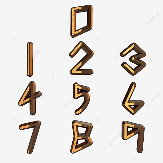 black gold digital font