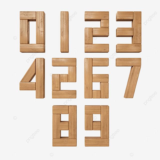 block digital font