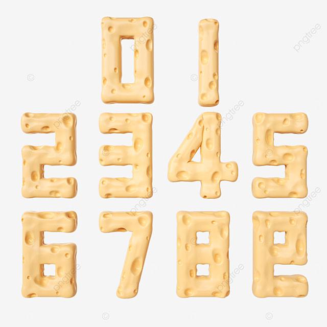 cheese digital font