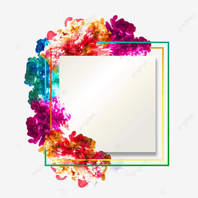 color smoke border